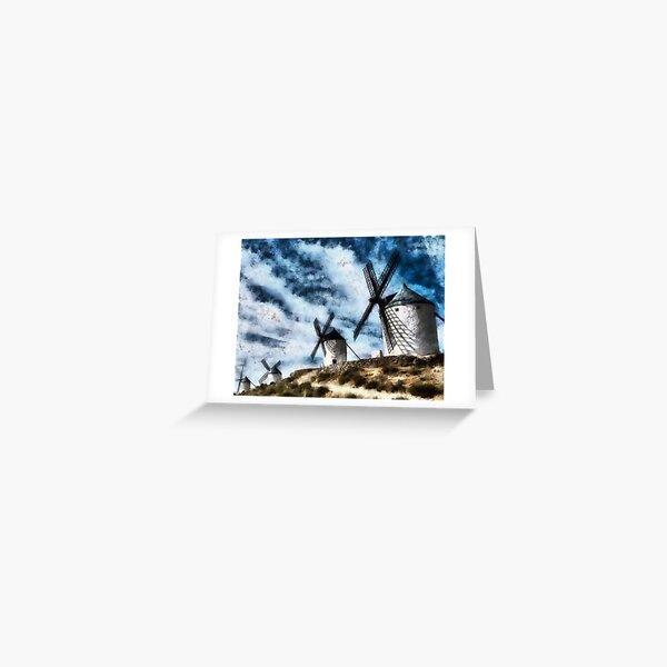 moulins Carte de vœux