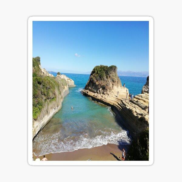 Cliffs by the Ocean Sticker