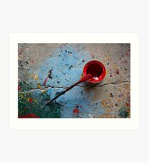 Paint the Town Red Art Print