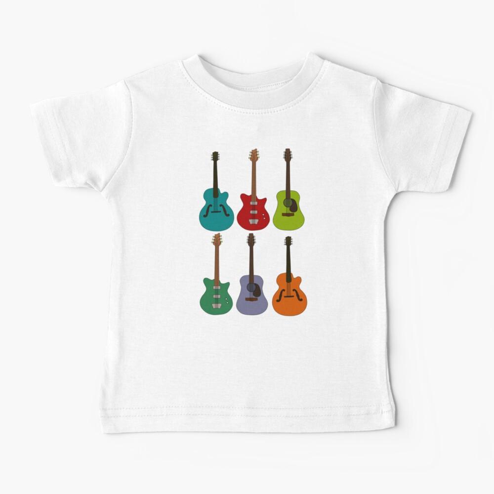 Guitars Baby T-Shirt