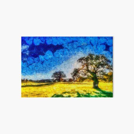 Paysage arbres Impression rigide