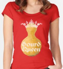 Gourd Queen Pretty in Pink Women's Fitted Scoop T-Shirt