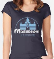 Mushroom Kingdom  Women's Fitted Scoop T-Shirt