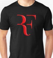 Camiseta ajustada rf, roger federer, roger, federer, tenis, wimbledon, hierba, torneo, pelota, leyenda, deporte, australia, nadal, red, cool, logo, perfecto.