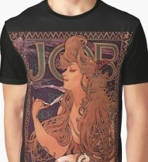'Job' by Alphonse Mucha (Reproduction) Graphic T-Shirt