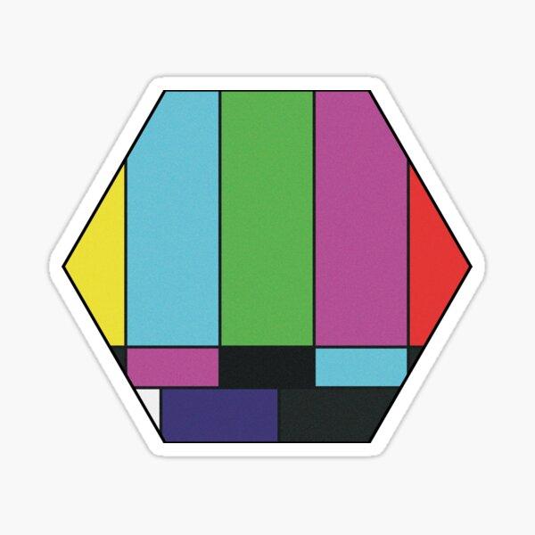 WandaVision: Please Stand By Hex Sticker