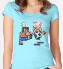 World Cup Soccer Shot Women's Fitted Scoop T-Shirt