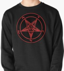 Red Baphomet Pullover
