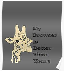 My Browser is Better Than Yours Poster