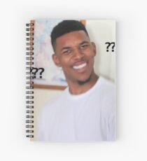 Question Mark Guy (Meme) Spiral Notebook