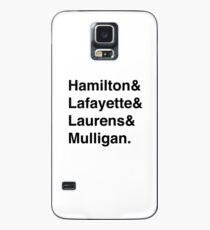 Hamilton Hülle & Klebefolie für Samsung Galaxy