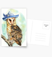 Strange Barn Owl Postcards