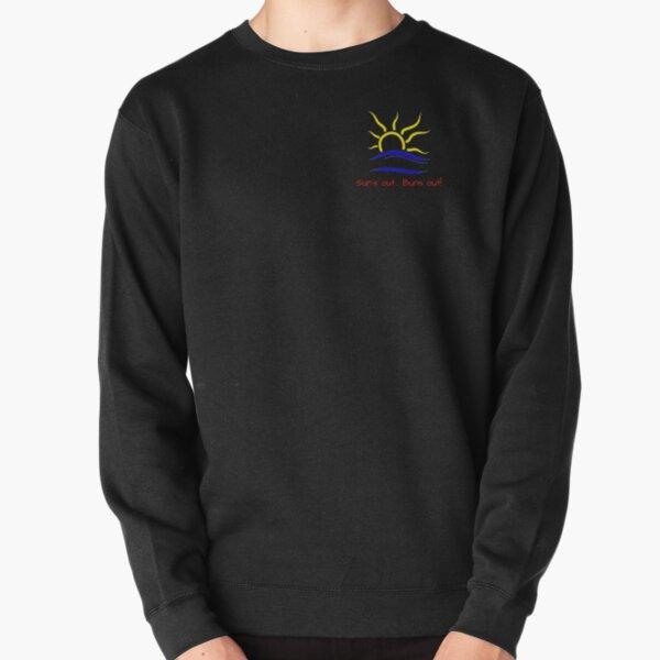 Naturist Symbol - Sun's out... Buns out! - pocket size Pullover Sweatshirt