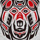 Haida style grizzly by TurkeysDesign