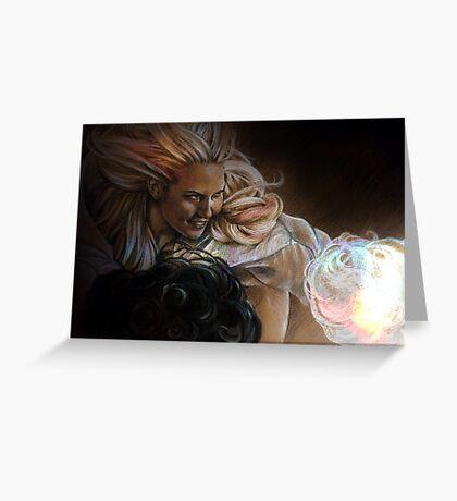 Light and Dark Greeting Card