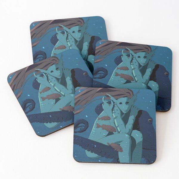 Nereid Coasters (Set of 4)