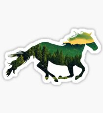 Run Forest  Sticker