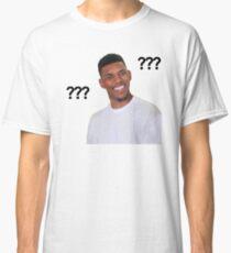 Camiseta clásica Question Mark Guy (Meme) - Transparente