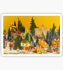 Dickens Christmas Sticker