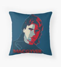 MacGyver: Operation Paperclip Throw Pillow