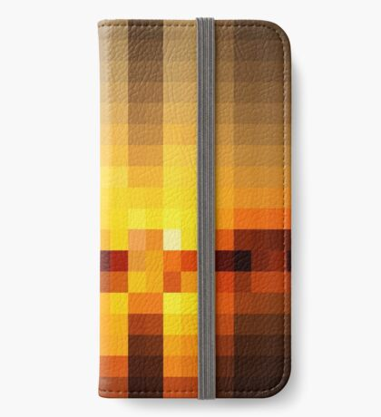 Nature Pixels No 19  iPhone Wallet
