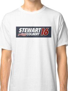 Stewart & Colbert 2016 Election Classic T-Shirt