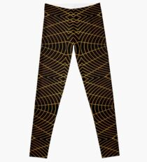 Futuristic Geometric Design Leggings