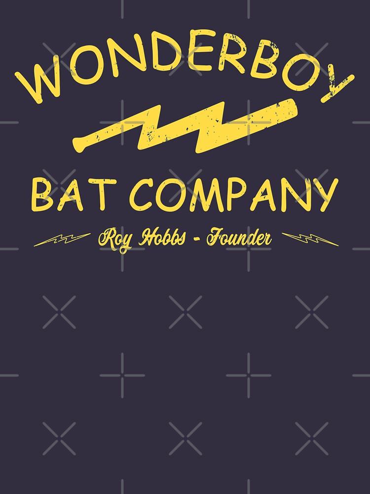 Vintage Wonderboy Bat Company - Professional Graphics by Designage100