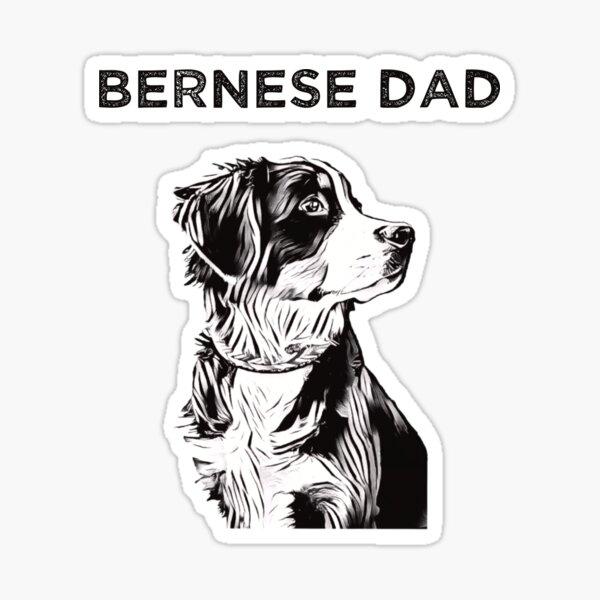 Bernese Dad Sticker