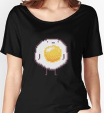 Standing Egg Pixel  Women's Relaxed Fit T-Shirt