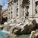 Trevi Fountain by Lucinda Walter