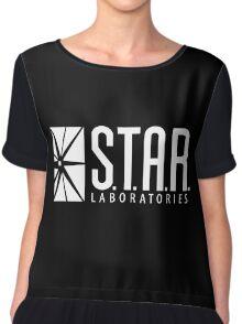 Black Star Labs Shirt Chiffon Top