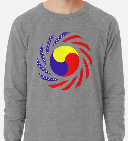 Korean American Multinational Patriot Flag Series 3.0 Lightweight Sweatshirt