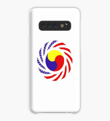 Korean American Multinational Patriot Flag Series 3.0 Case/Skin for Samsung Galaxy