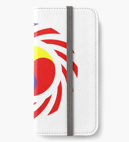 Korean American Multinational Patriot Flag Series 3.0 iPhone Wallet