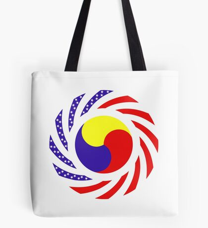 Korean American Multinational Patriot Flag Series 3.0 Tote Bag