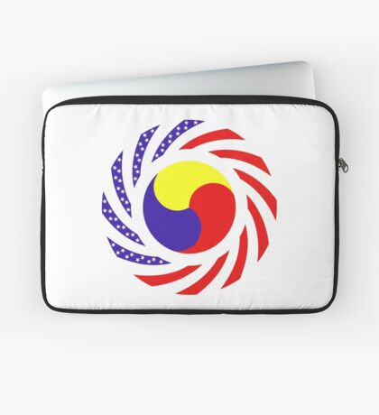 Korean American Multinational Patriot Flag Series 3.0 Laptop Sleeve