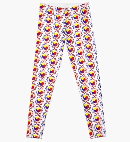 Korean American Multinational Patriot Flag Series 3.0 Leggings