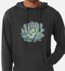 Succulent plant Lightweight Hoodie