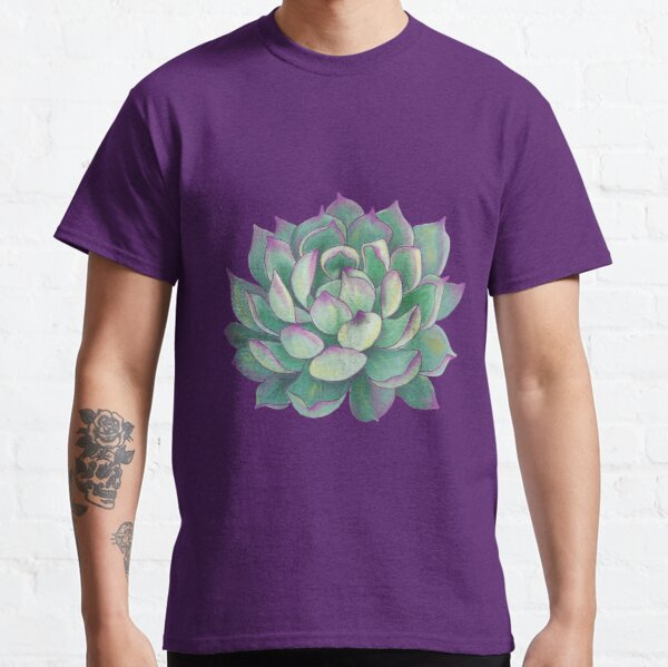 Planta suculenta Camiseta clásica