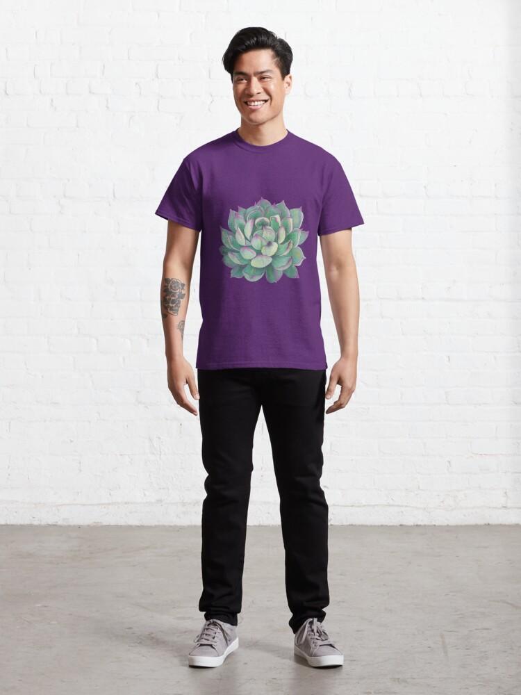 Alternate view of Succulent plant Classic T-Shirt