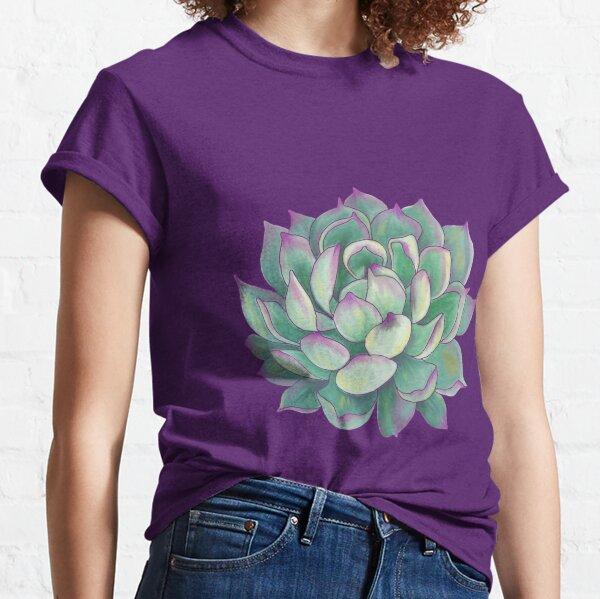 Sukkulente Pflanze Classic T-Shirt