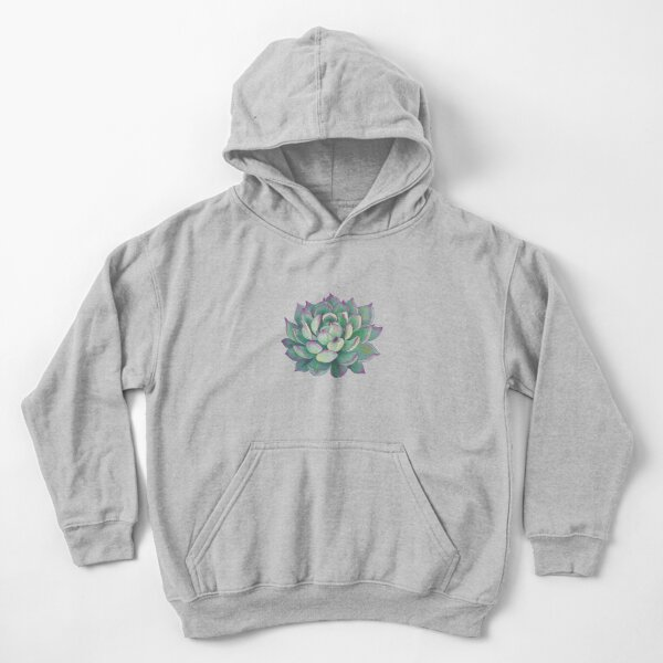 Succulent plant Kids Pullover Hoodie
