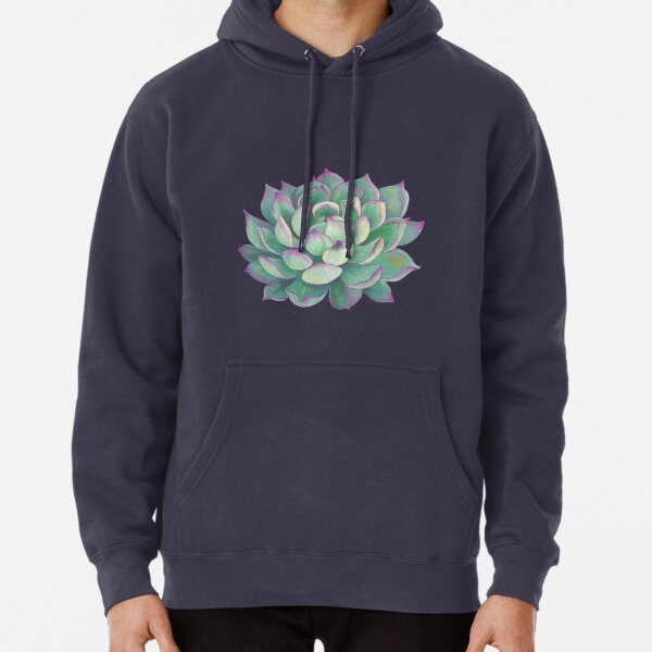 Succulent plant Pullover Hoodie