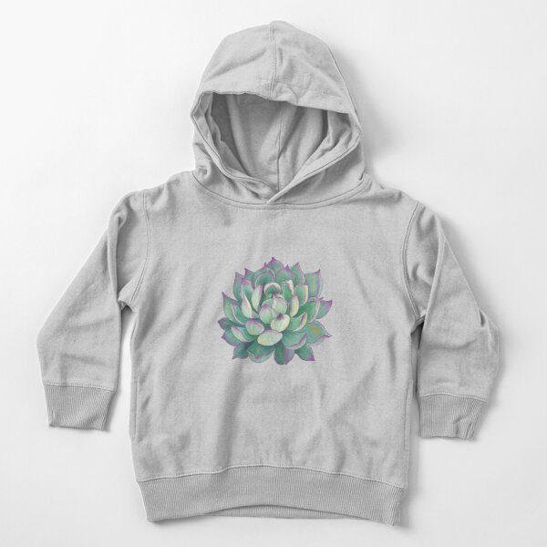 Succulent plant Toddler Pullover Hoodie