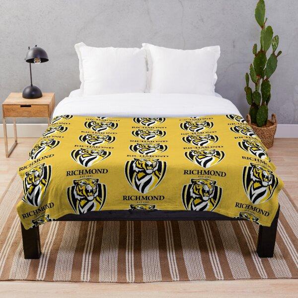 tigers-richmond  Throw Blanket