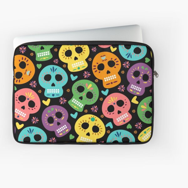 Dia de Los Muertos - Seamless Pattern Laptop Sleeve