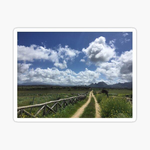 Sardinia, Italy - Pathway to Paradise Sticker