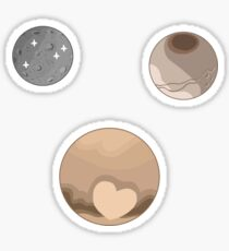 Dwarf Planets Sticker