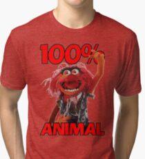 Muppets 100 Animal oder Geburtstagsgeschenk Tri-blend T-Shirt